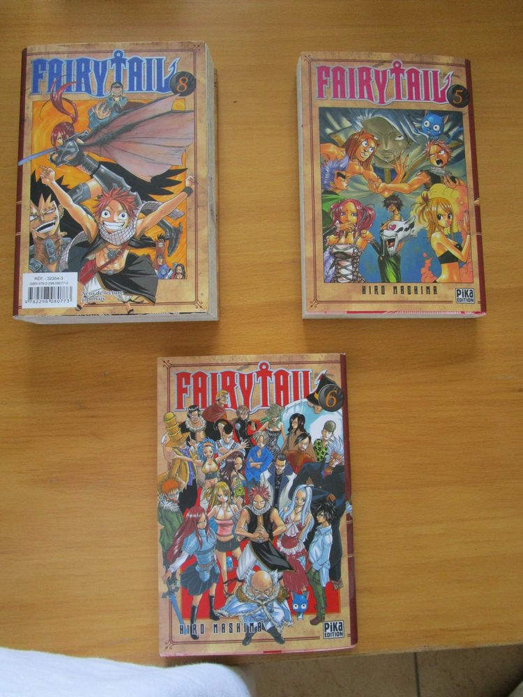 Livres Fairy Tail