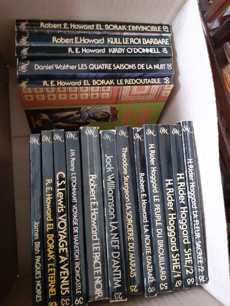 livres fantastiques et science-fiction Livres et BD