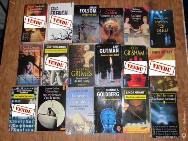 Livres fiction, policier, roman 4 2 Sainte-Geneviève-des-Bois (91)