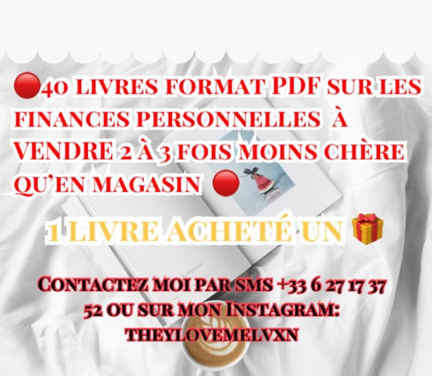 livres finances personelle  10 Créteil (94)