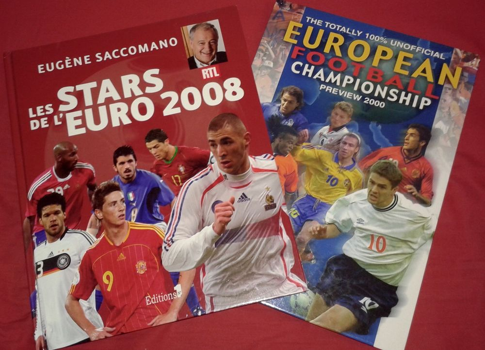 2 Livres sur le Football (1 français / 1 anglais) 14 Paris 19 (75)