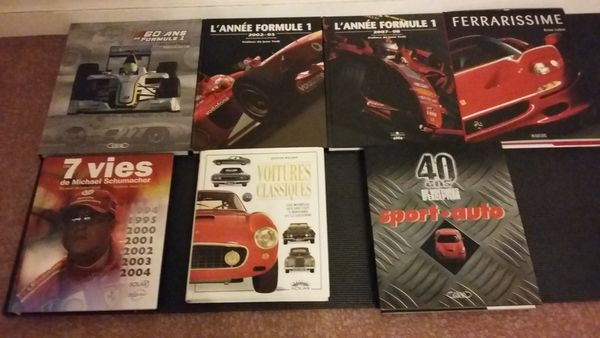 Livres Formule1,sport-auto 0 Melun (77)