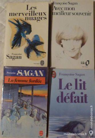 4 livres Françoise Sagan 4 Chalon-sur-Saône (71)