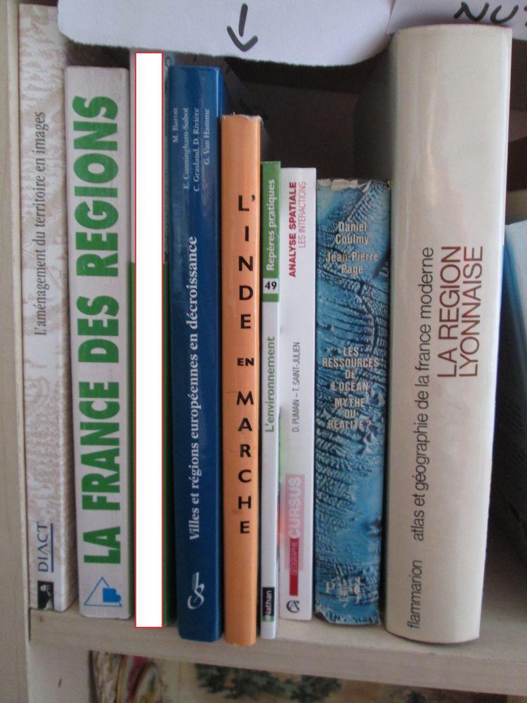 Livres géographie, environnement Livres et BD