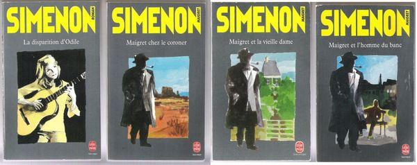 Livres de Georges Simenon 1 Balma (31)