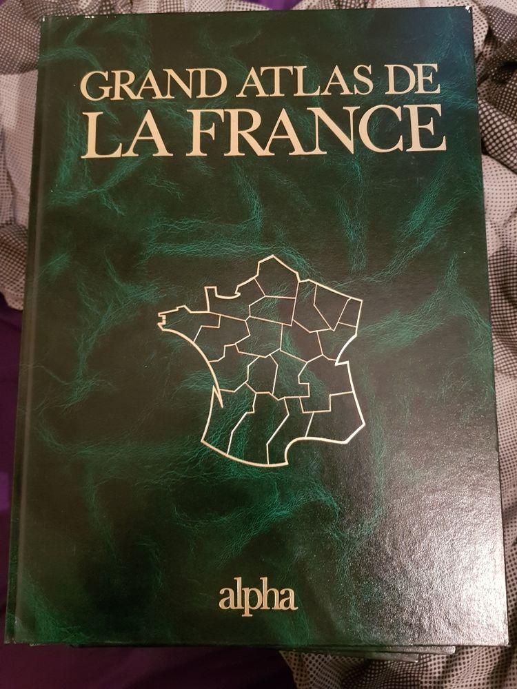 Livres Grand atlas de France édition alpha 60 Vertus (51)