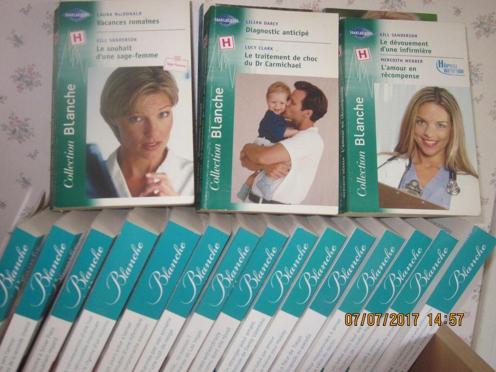 livres HARLEQUIN BLANCHE (médical) 1 Soucelles (49)