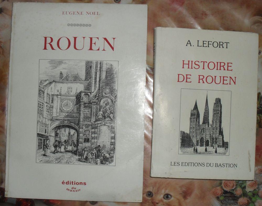 2 Livres sur l'Histoire de ROUEN en très bon état. 35 Montreuil (93)