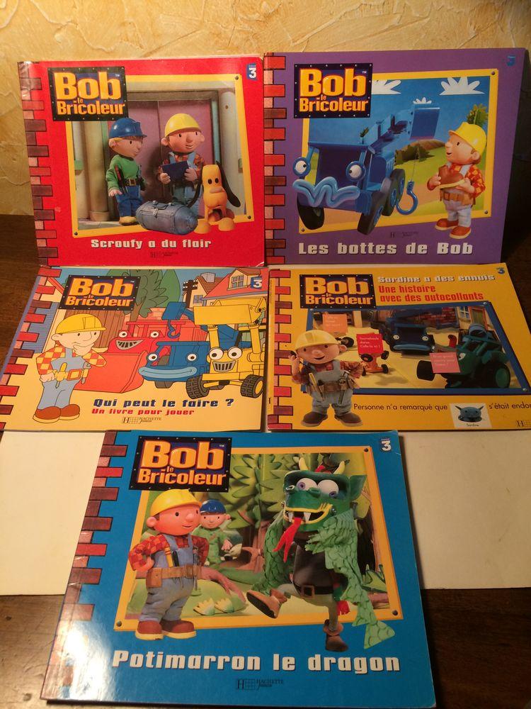 5 livres histoires de Bob le bricoleur et ses amis Hachette Livres et BD