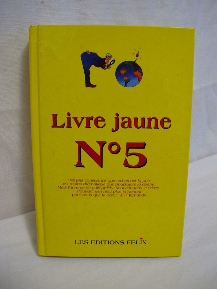 3 Livres  JAUNE  5-6-7. 90 Toulouse (31)