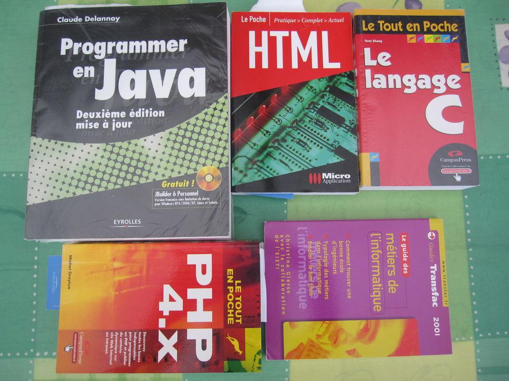 Livres : JAVA   HTML   PHP4X   LANGAGE C 10 Comines (59)