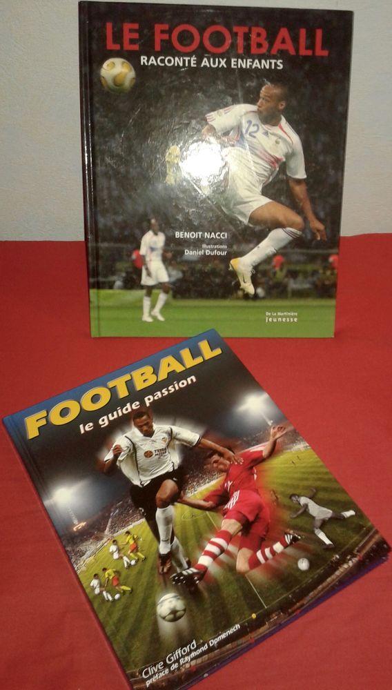 2 livres jeunes sur le Foot en Français 12 Paris 19 (75)