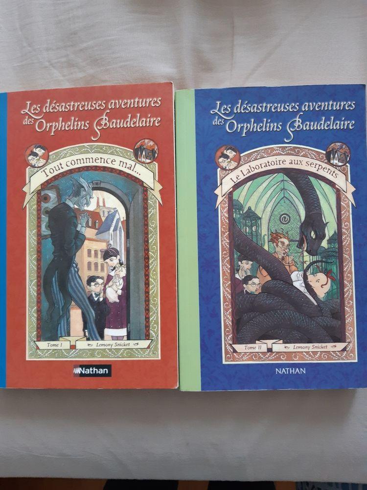 livres jeunesse/ado les désastreuses aventures des orphelins beaudelaire tomes 1 et 2 8 Viroflay (78)