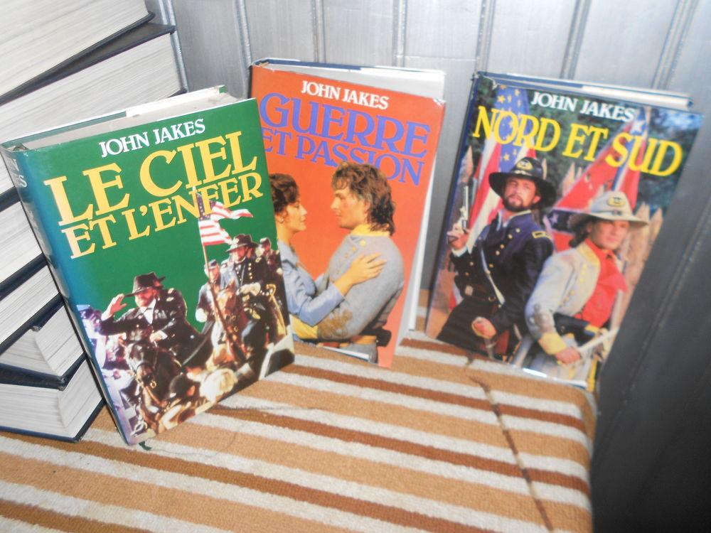 3 livres de john jakes Livres et BD