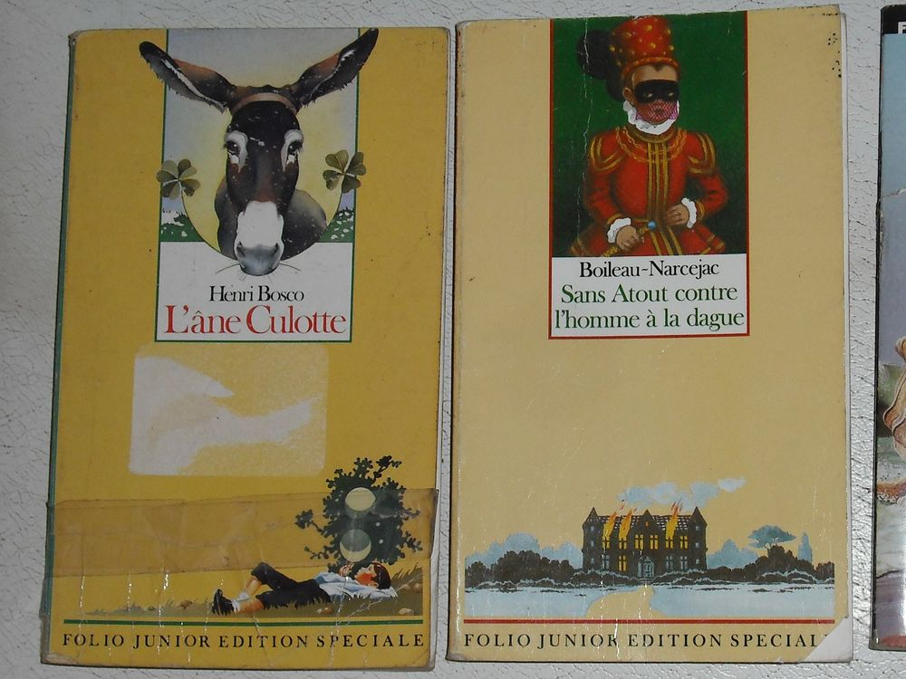 livres junior  1 euros les 2 livres 1 Cramont (80)