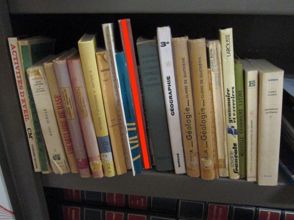 Lot de 30 Livres livrets manuels scolaires anciens 95 Herblay (95)