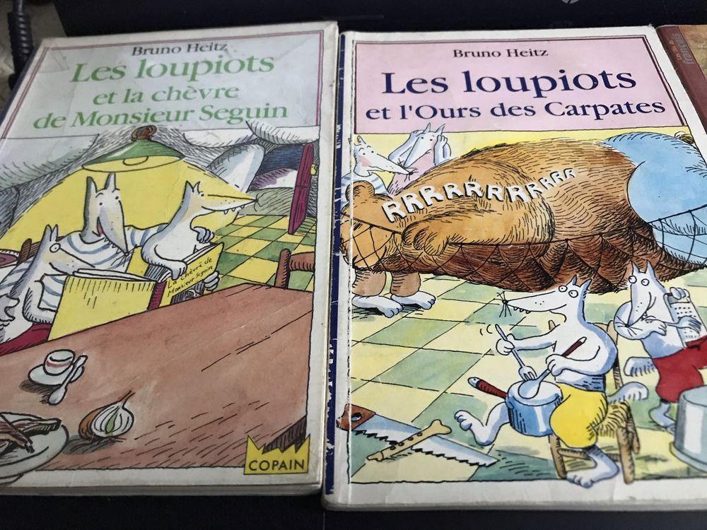 2 livres les loupiots et Robin et sa genette 3 Saint-Genis-Laval (69)