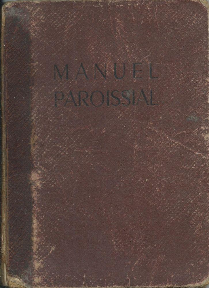 1 lot de 2 livres manuel paroissial et loi chrétienne  15 Tours (37)