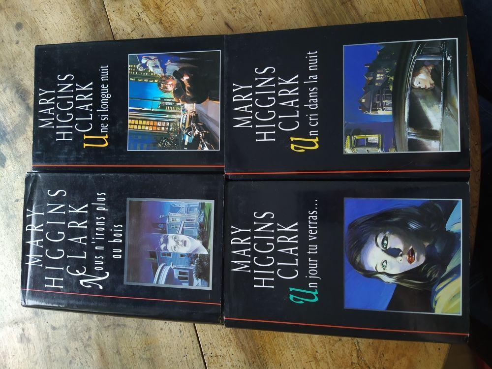 Lot de 4 livres de Mary Higgins Clark 2 Lille (59)