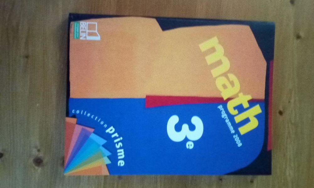 livres de mathématiques (6ème, 5ème et 3ème) 13 Paris 4 (75)
