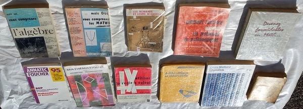 11 livres de Mathématiques en bon état 149 Saint-Clair-sur-Galaure (38)