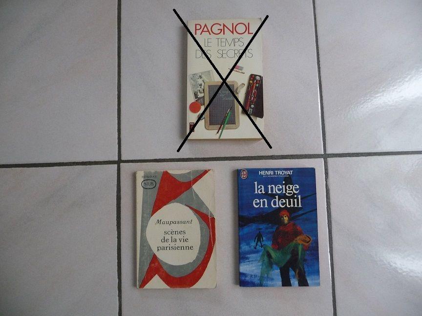 2 Livres MAUPASSANT et TROYAT 8 Montigny-le-Bretonneux (78)