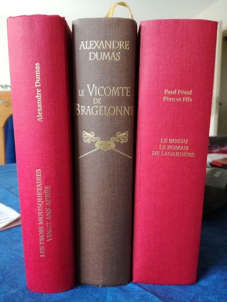 3 livres Les 3 mousquetaires, le Bossu 6 Mérignac (33)