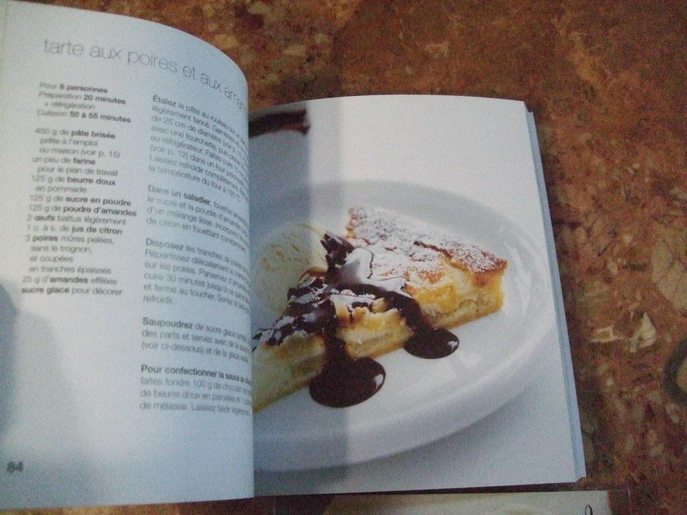 Livres neufs avec recettes desserts. Lot n° 3. 15 Sablet (84)
