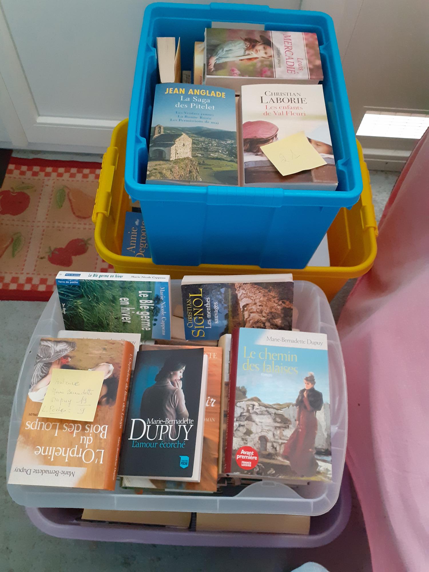 Lot livres occasion 160 Roquefort (47)