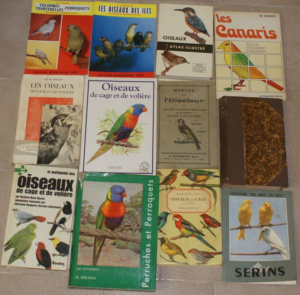 12 livres oiseaux de volières 59 Montcy-Notre-Dame (08)