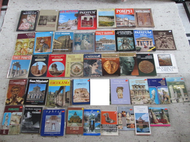 Livres sur pays, voyages, sites lot n°1 2 Herblay (95)