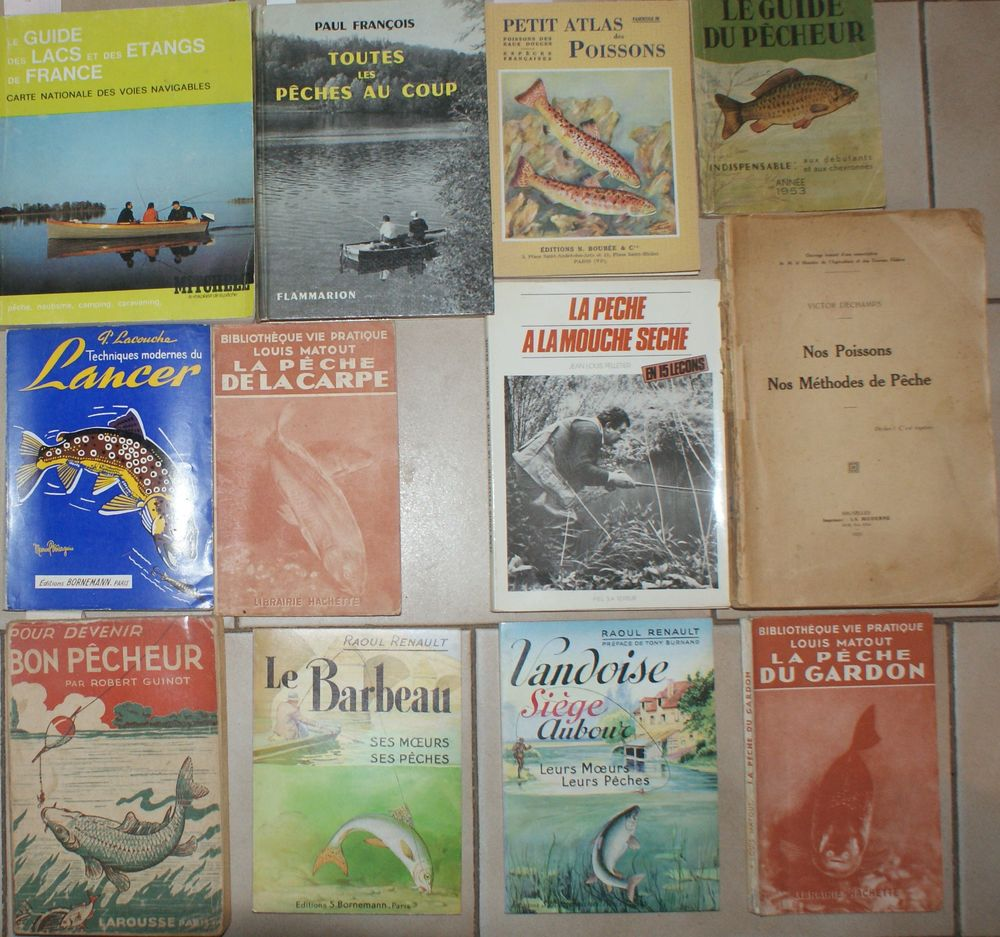 livres de pêche 12 99 Montcy-Notre-Dame (08)