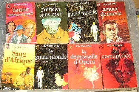 lot de 12 livres de poche Guy des Cars 20 Versailles (78)