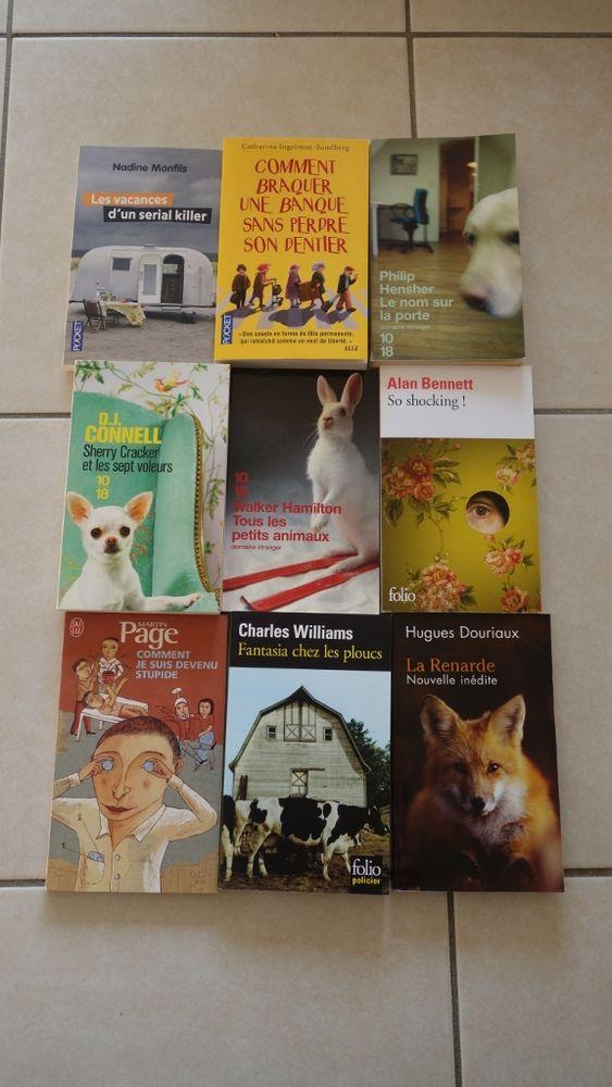 Livres de poche: Monfils, Page, Douriaux, Bennett, Hamilton 2 Hyères (83)