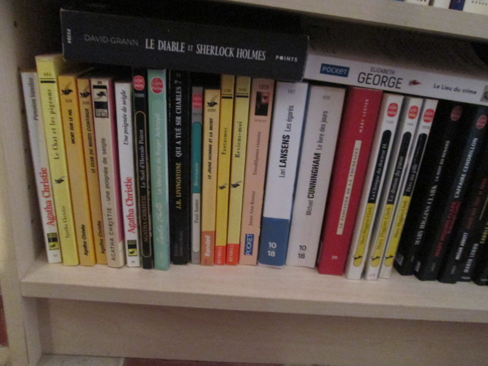 Livres poche romans policiers & thrillers lot n°1 1 Herblay (95)