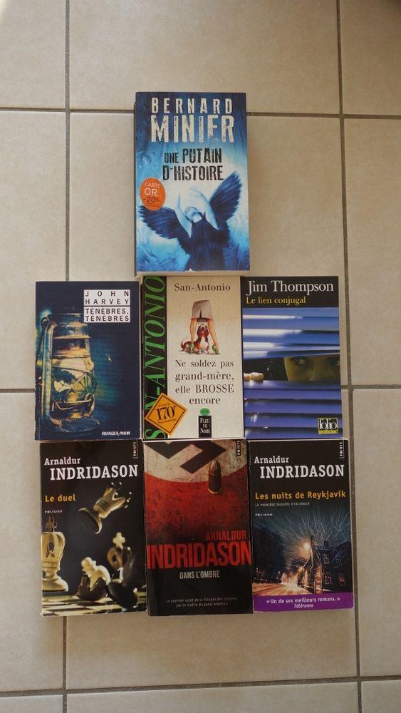 Livres Policier: Harvey, Minier, Thompson, Indridason.. 2 Hyères (83)