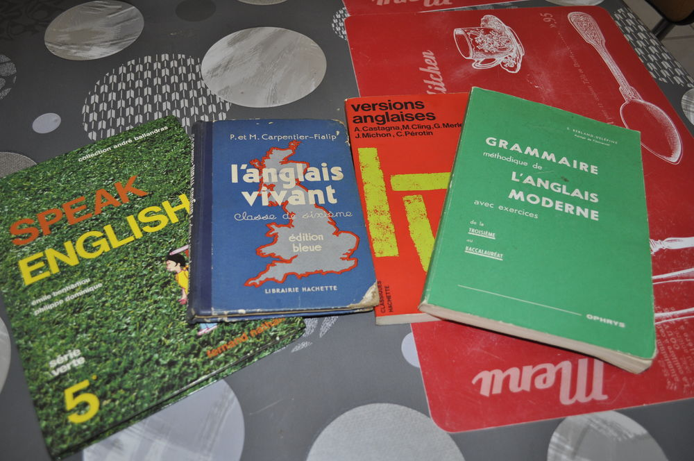 Lot De Livres Pour Apprendre L Anglais