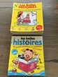 lot de livres pour enfants 4-8 ans:LES BELLES HISTOIRES  24 Martinique (97)