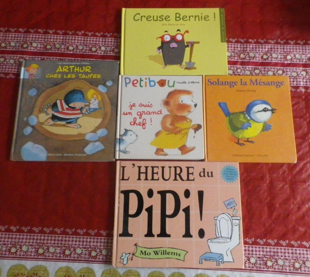 LOT DE 5 LIVRES POUR ENFANTS BERNIE ARTHUR ETC 8 Attainville (95)