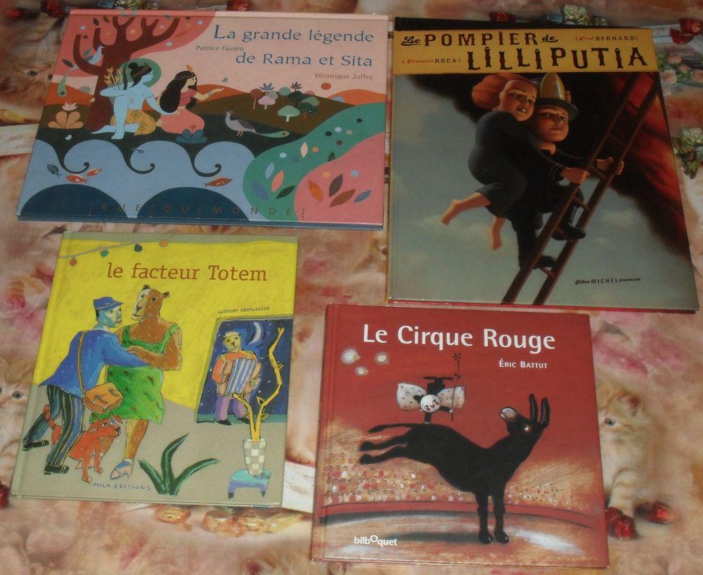 Lot de 4 livres pour enfants état NEUF 40 Montreuil (93)