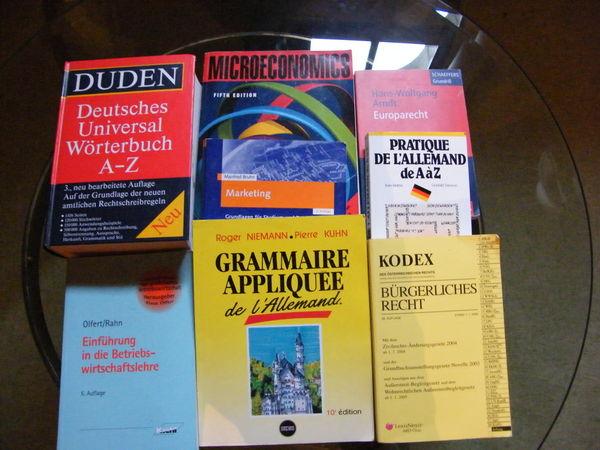 Lot de 8 livres, pour étude d'Allemand 0 Saint-Dolay (56)