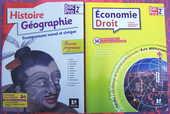 Livres pour seconde Bac Pro : Maths, Eco-Droit, Histoire-Géo 25 Poitiers (86)