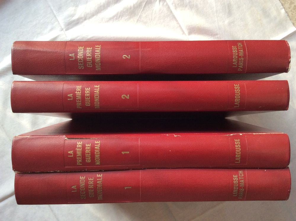 4 Livres - Première et Seconde guerre mondiale 20 Toulon (83)