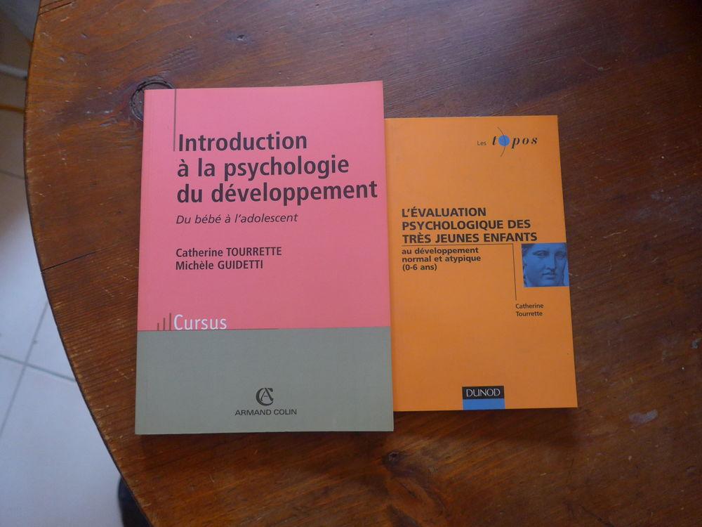 Lot de 2 livres psychologie Catherine Tourrette 8 Saint-Rémy-de-Provence (13)