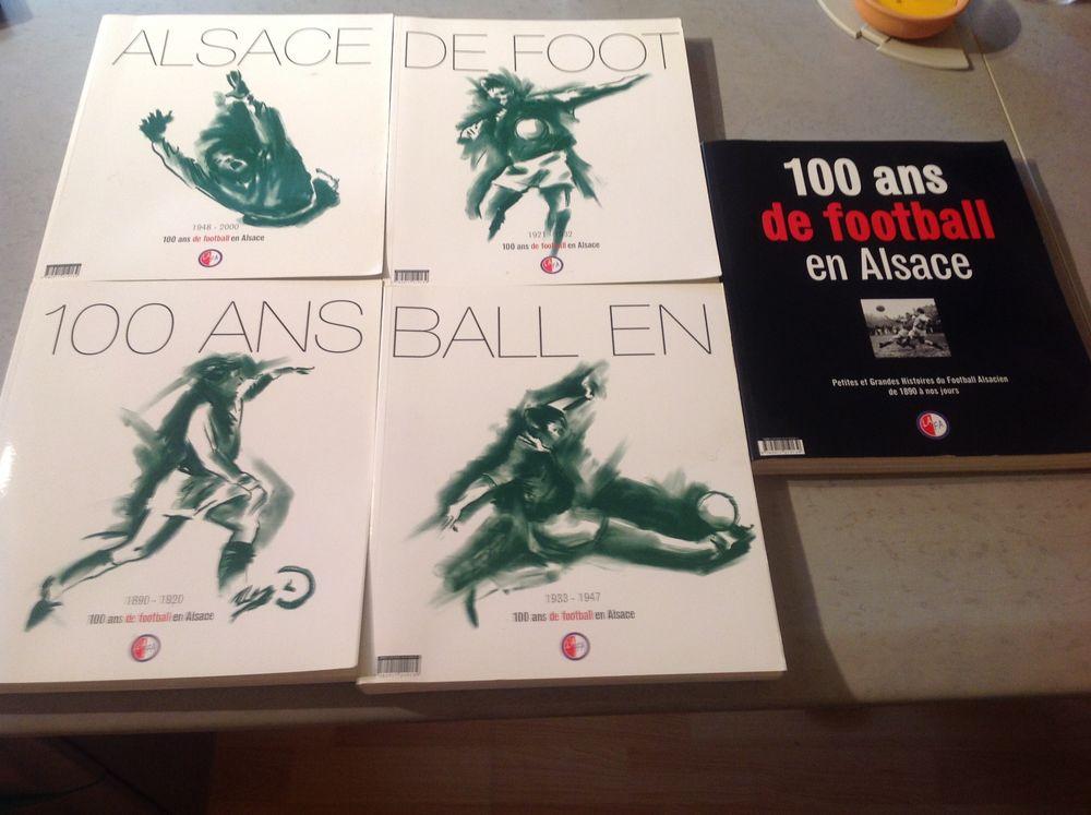 Livres rares 100 ans de Football en Alsace. 120 Bollwiller (68)
