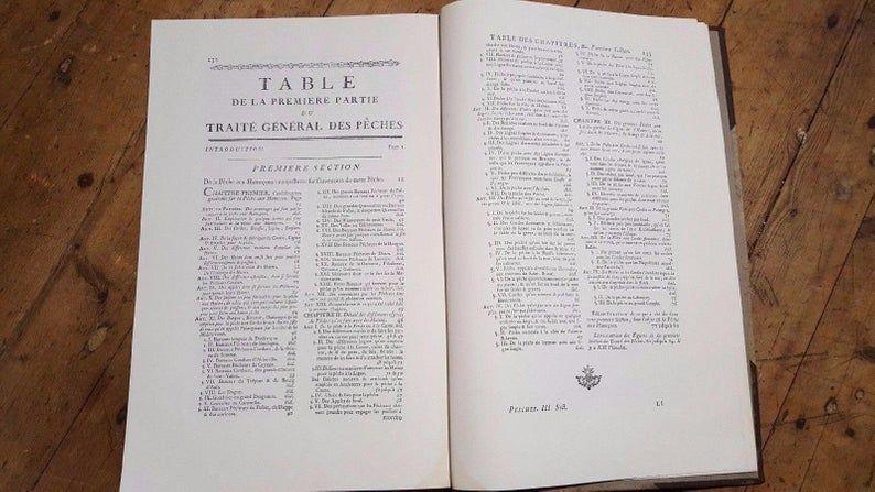 Livres rares:  Traité des Pesches 70 Périgueux (24)