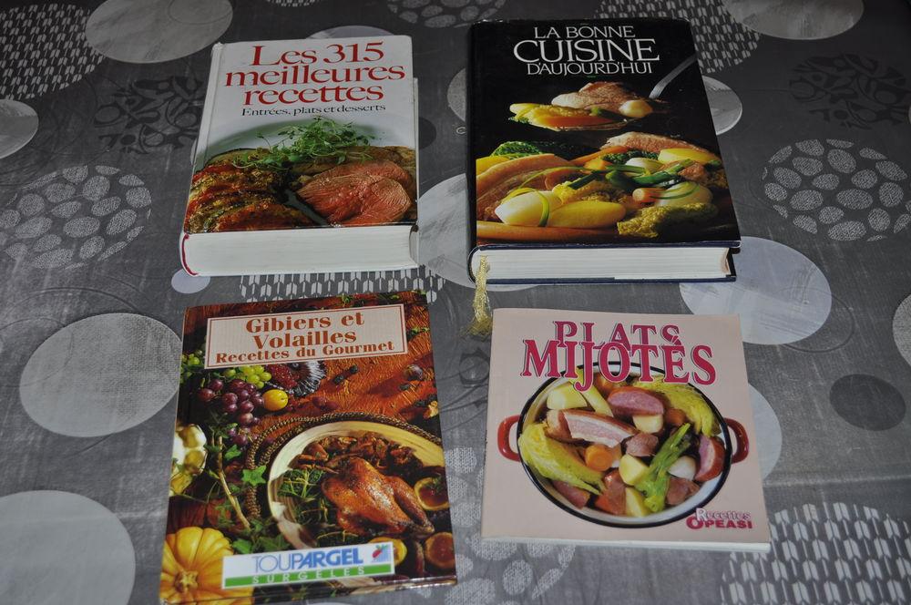 Lot de livres recettes de cuisine 5 Perreuil (71)