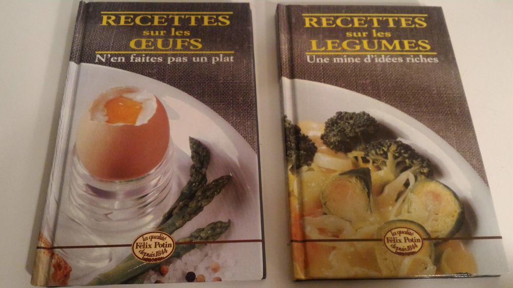 Lot 2 livres Recettes sur les légumes et Recettes sur les ?u 6 Paris 12 (75)
