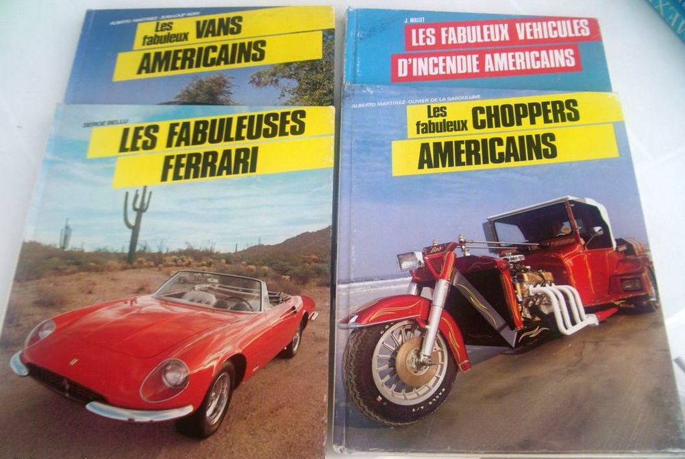 4 livres reliés pour les amateurs de véhicules 16 Chalon-sur-Saône (71)
