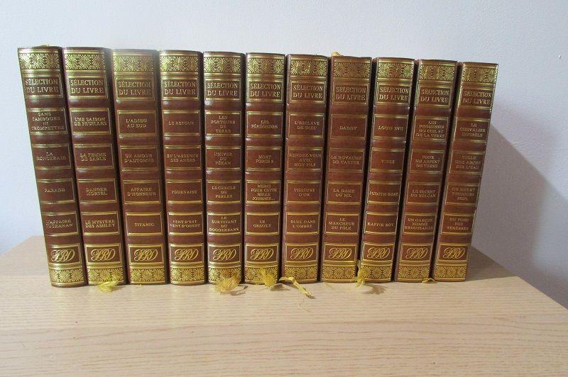 11 livres reliés du Reader's Digest , littérature 15 Montrouge (92)